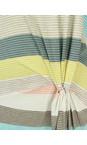 Sandwich Clothing Ocean Blue Striped Waist Detail Jersey Dress