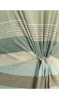 Sandwich Clothing Washed Jade Striped Waist Detail Jersey Dress