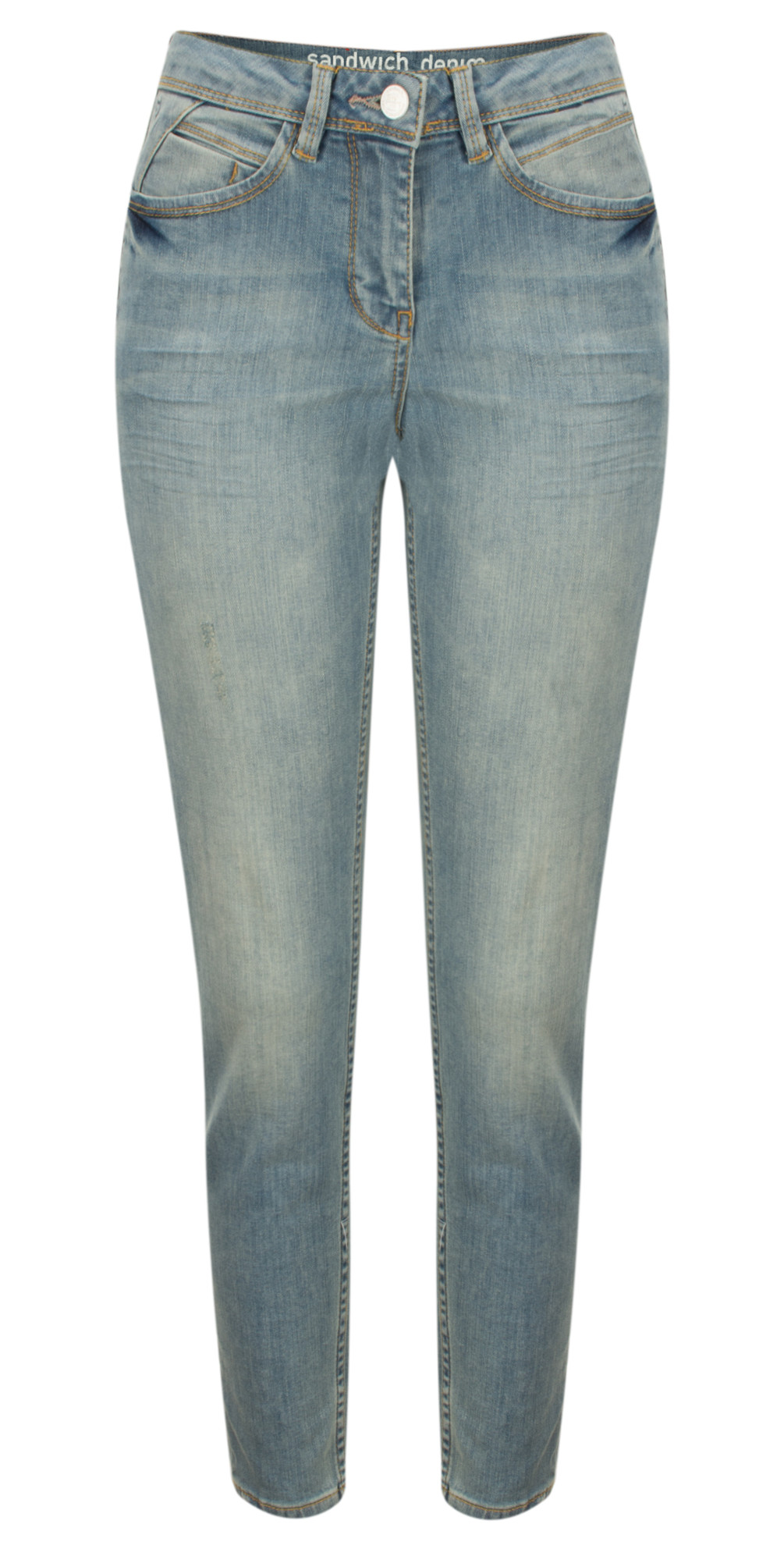 Stretch Denim Skinny Casual Trouser main image