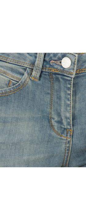 Sandwich Clothing Stretch Denim Skinny Casual Trouser Summer Bleach Wash