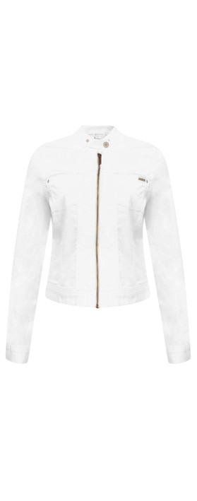 Sandwich Clothing Denim Jacket White Denim