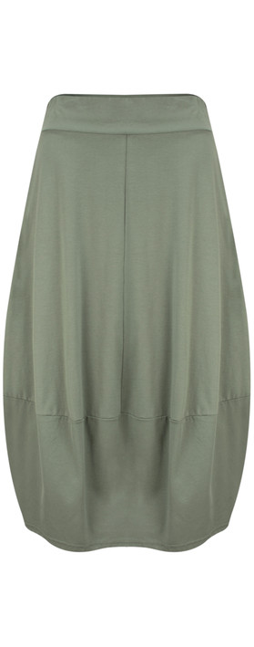 Mama B Paulette Skirt Salvia-dark sage green