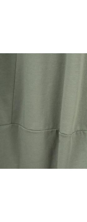 Mama B Paulette Skirt Salvia-dark sage green