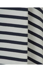 Mama B Stripe Blue Beth Stripe Top