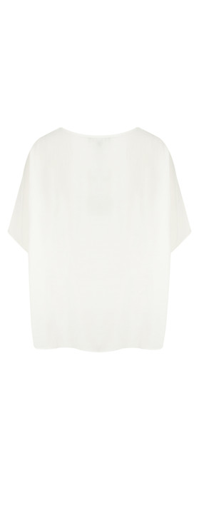 Mama B Oversized Ninfa Shirt Panna-off white