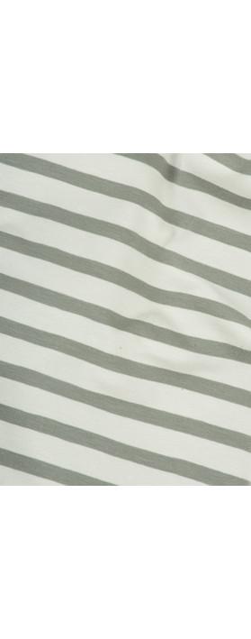 Mama B Stripe Sciarpa Scarf Stripe Sage