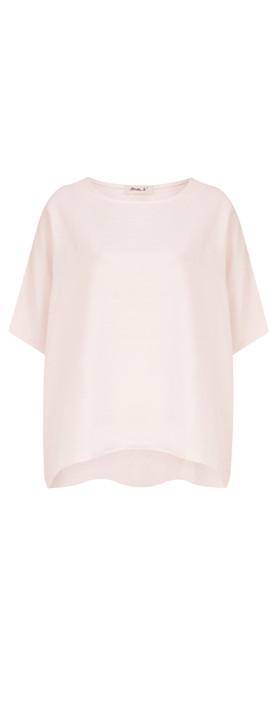 Mama B Oversized Ninfa Shirt Rose Smoke-lilac pink