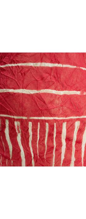 Sandwich Clothing Line Print Drawstring Hem Top Summer Rose