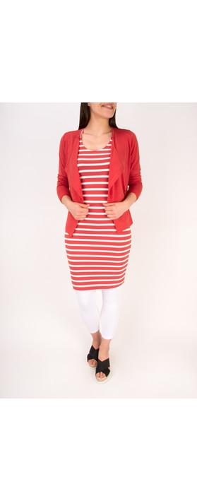 Sandwich Clothing Cotton Slub Jersey Cardigan Summer Rose
