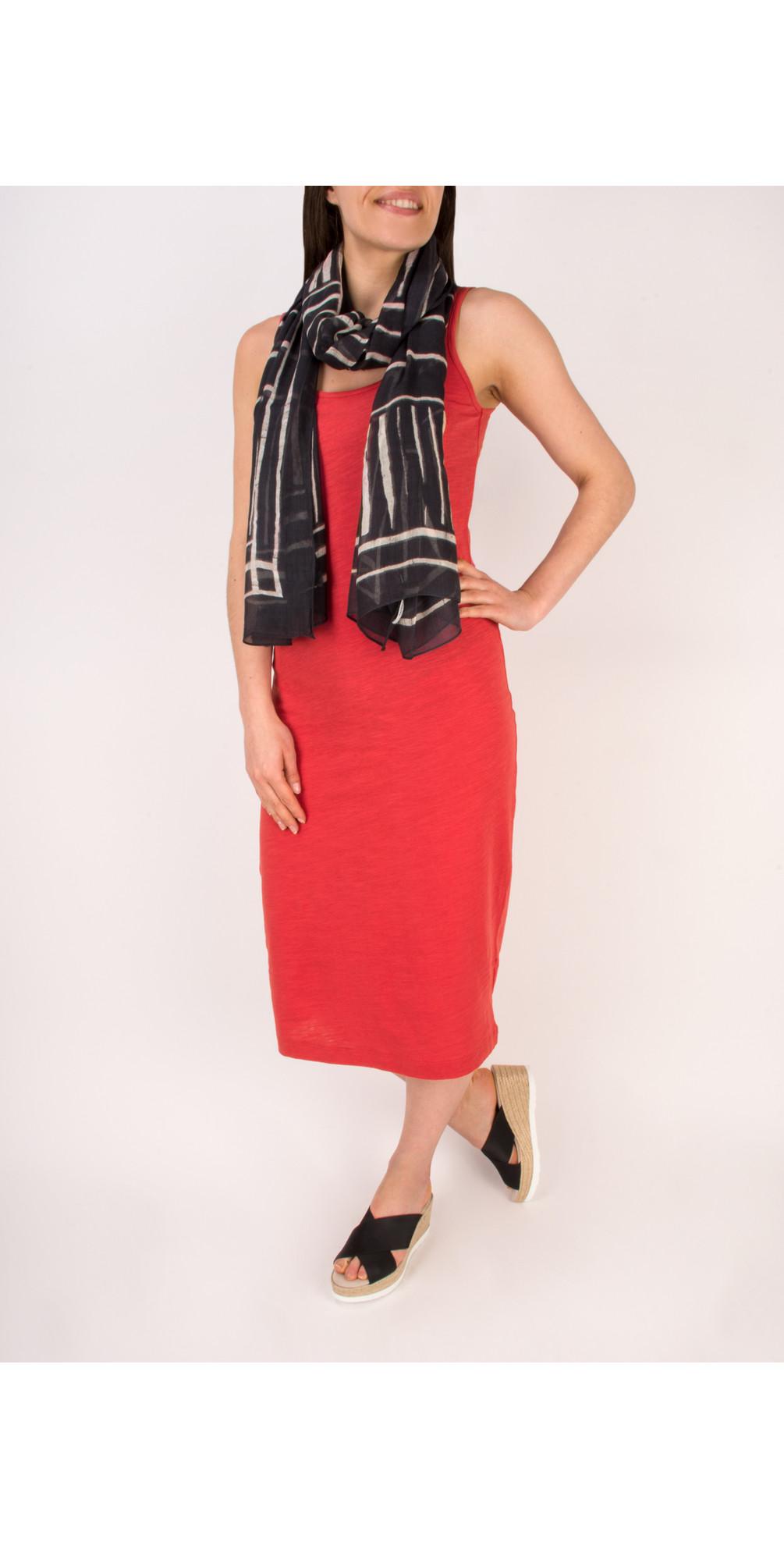 Slub Jersey Dress With Pocket main image