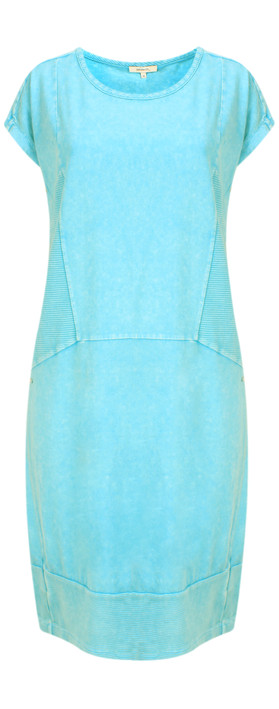 Sandwich Clothing Jersey Structured Dress Ocean Blue