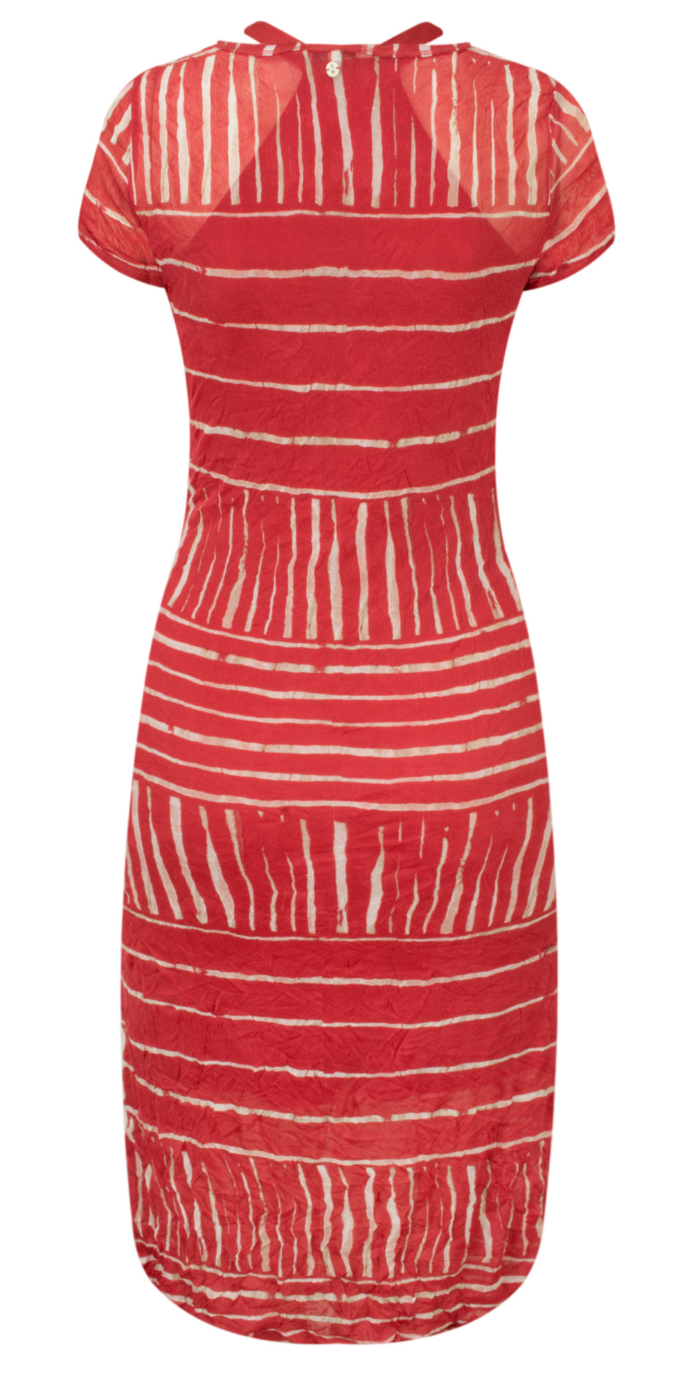 Stripe Print Crinkle Dress main image