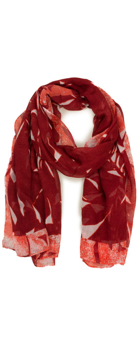 Sandwich Clothing Abstract Print Modal Scarf Summer Rose