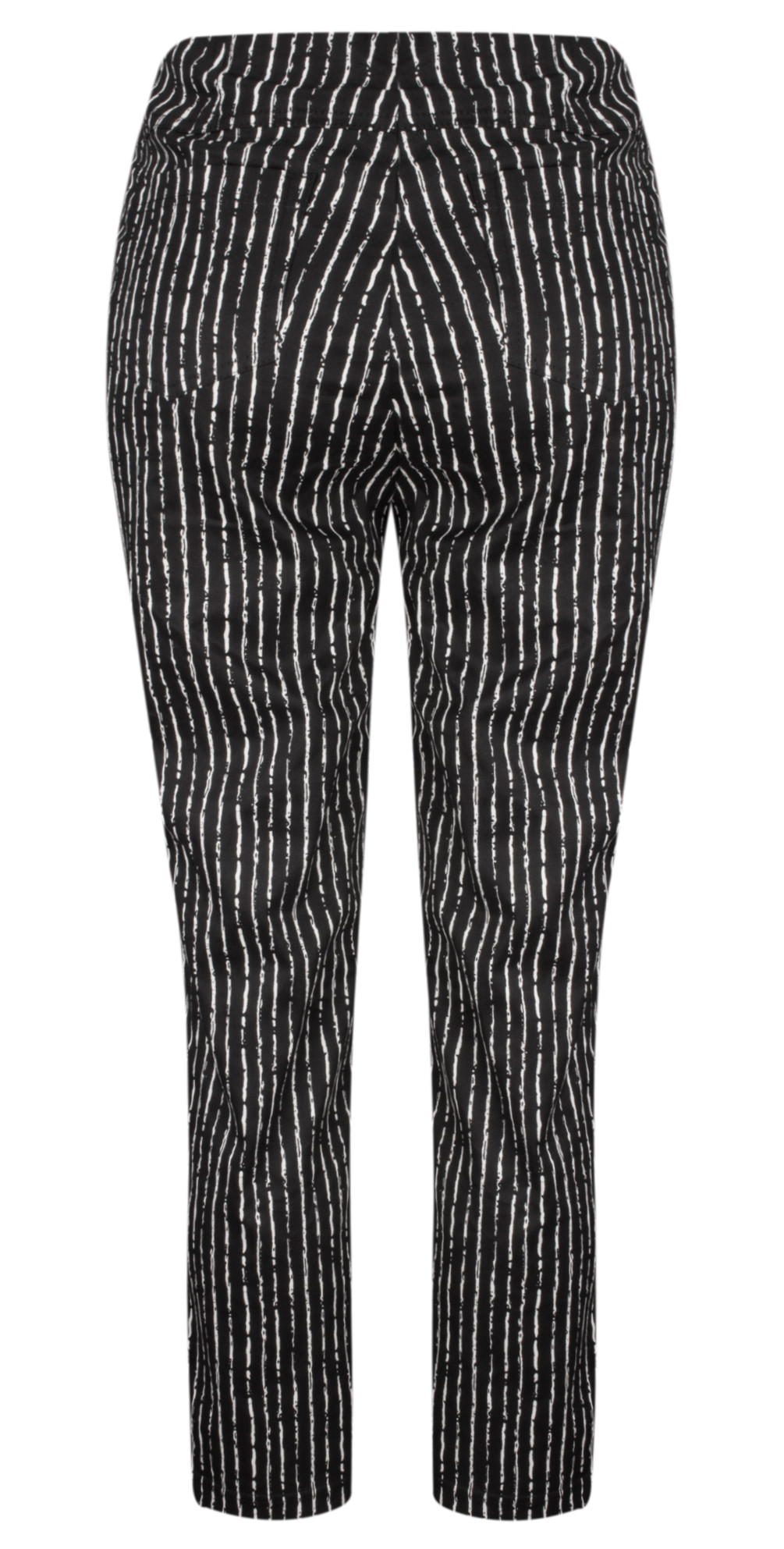 Bella 09 Paintstripe 7/8 Cropped Trouser main image
