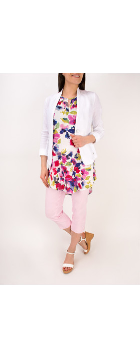 Robell Trousers Marie 07 Cropped Trouser Sorbet