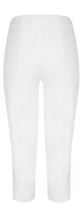 Robell Trousers Marie 07 Cropped Trouser White