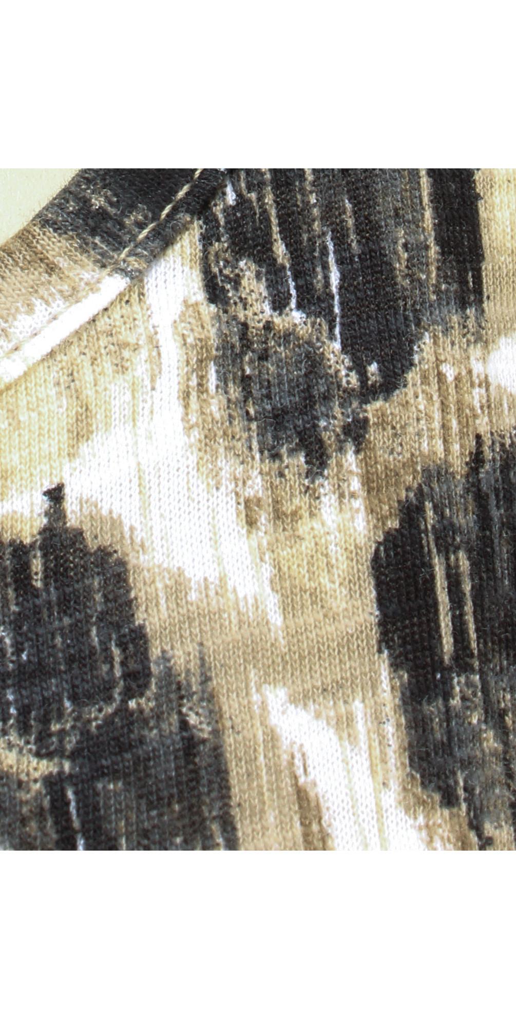 Spot Print Jersey Vest main image
