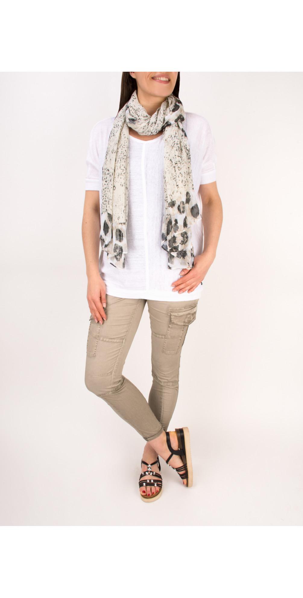 Relaxed Slub Linen Blend T-shirt main image