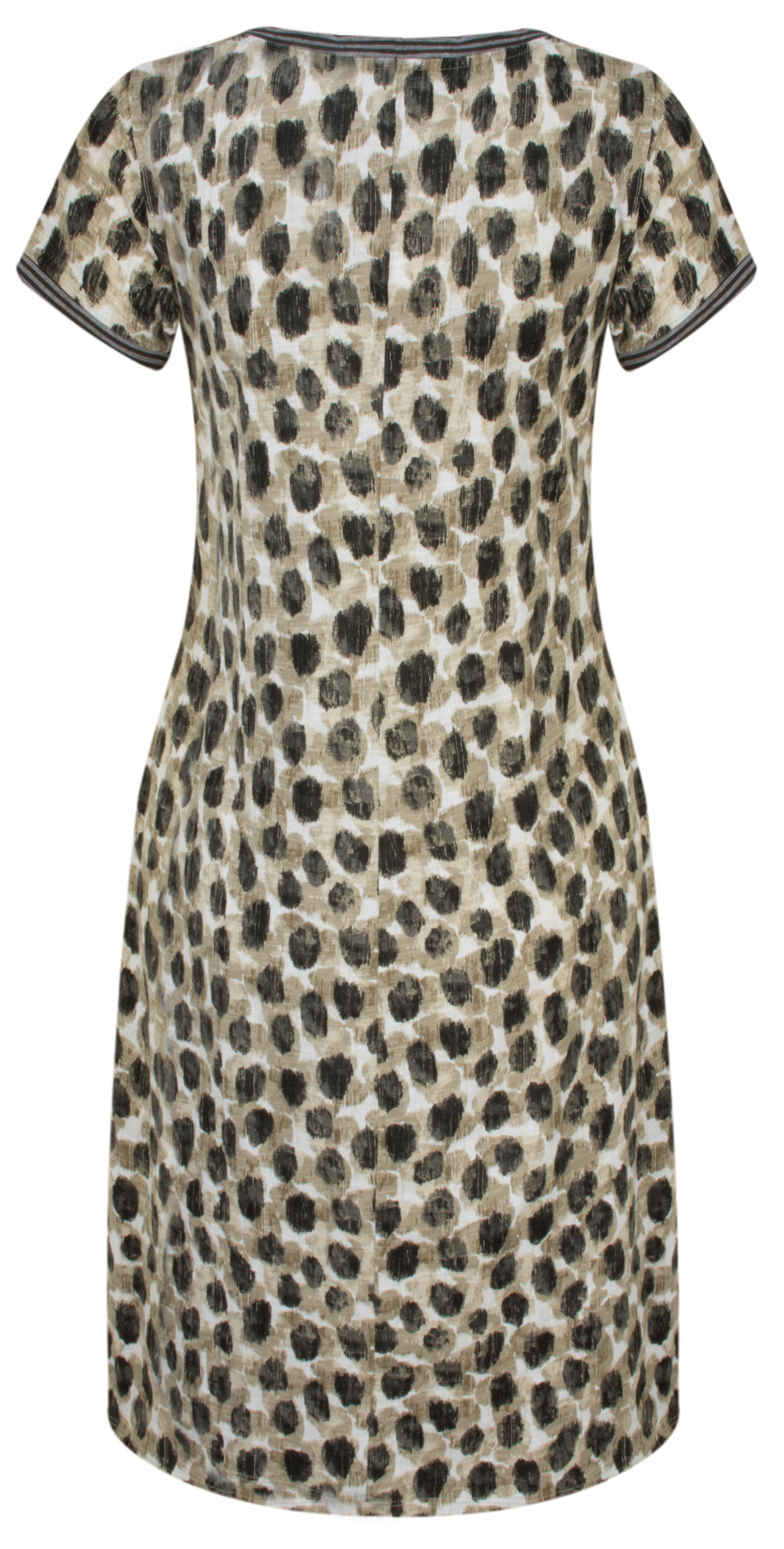 Dot Print Jersey Dress main image