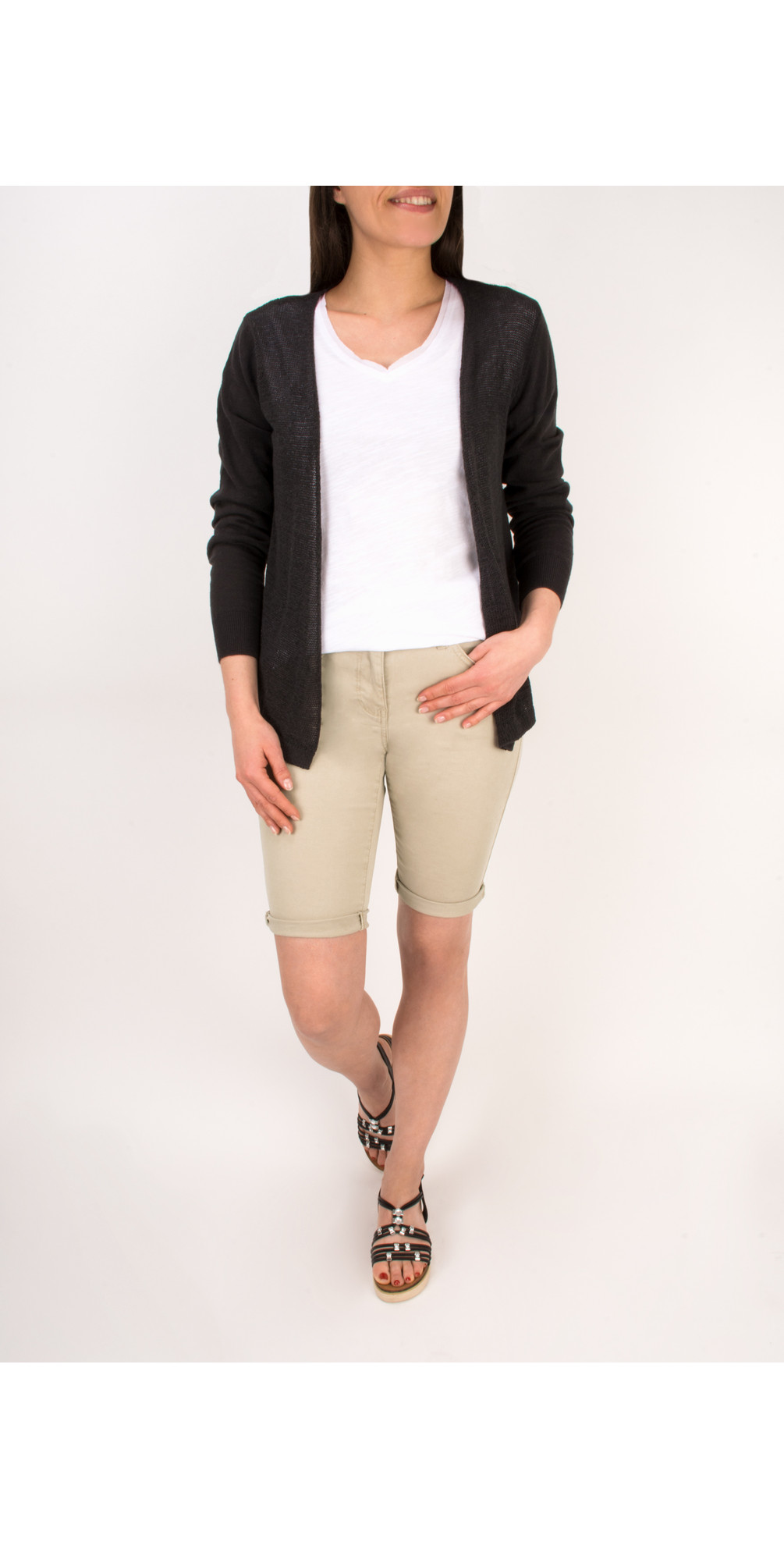 Stretch Cotton Shorts main image