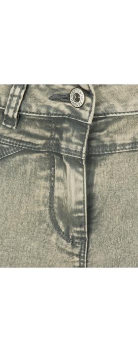 Sandwich Clothing High Waist Skinny Detail Trouser Jean Smoke Grey