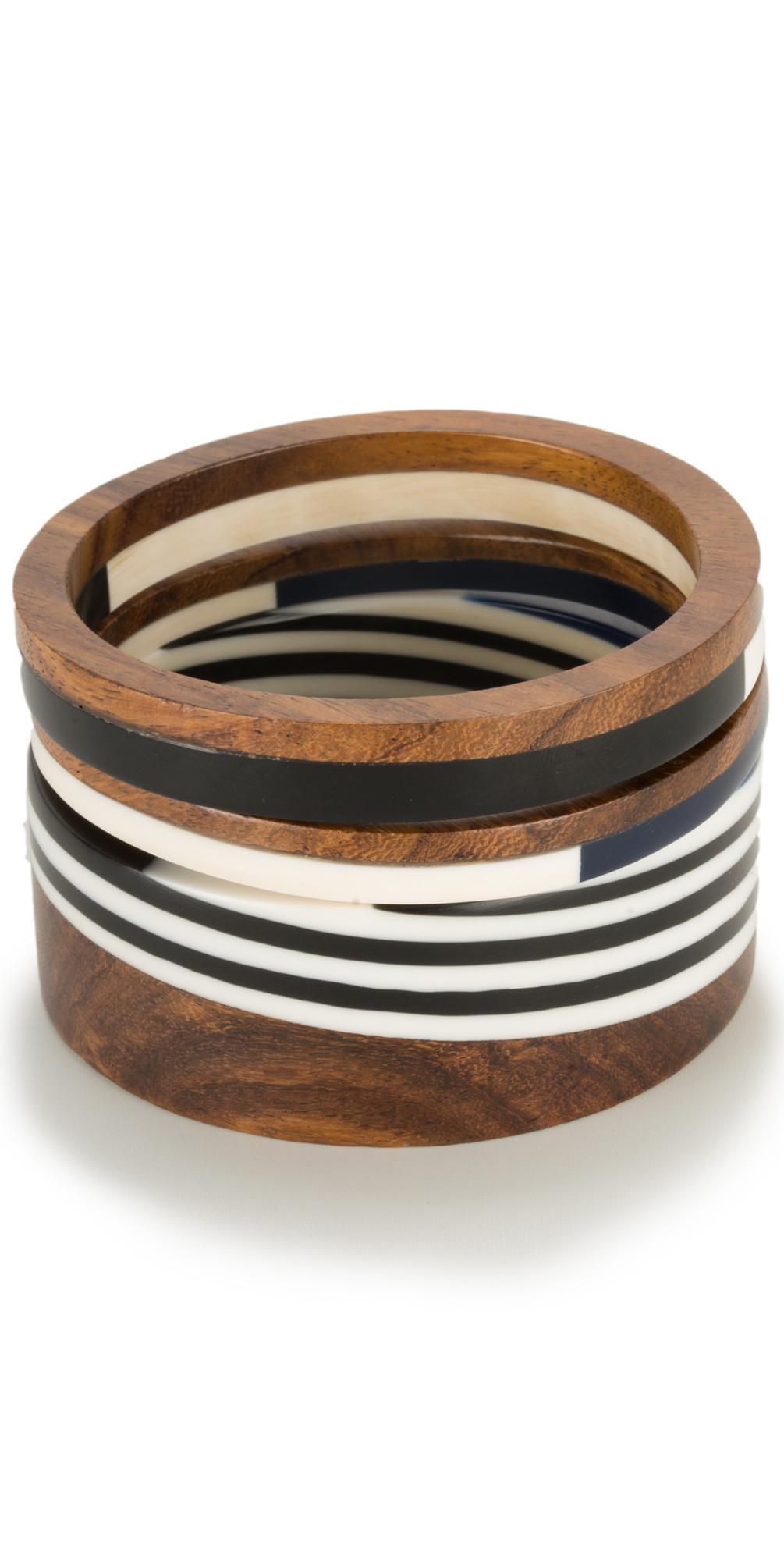 Wooden Effect Bangle main image