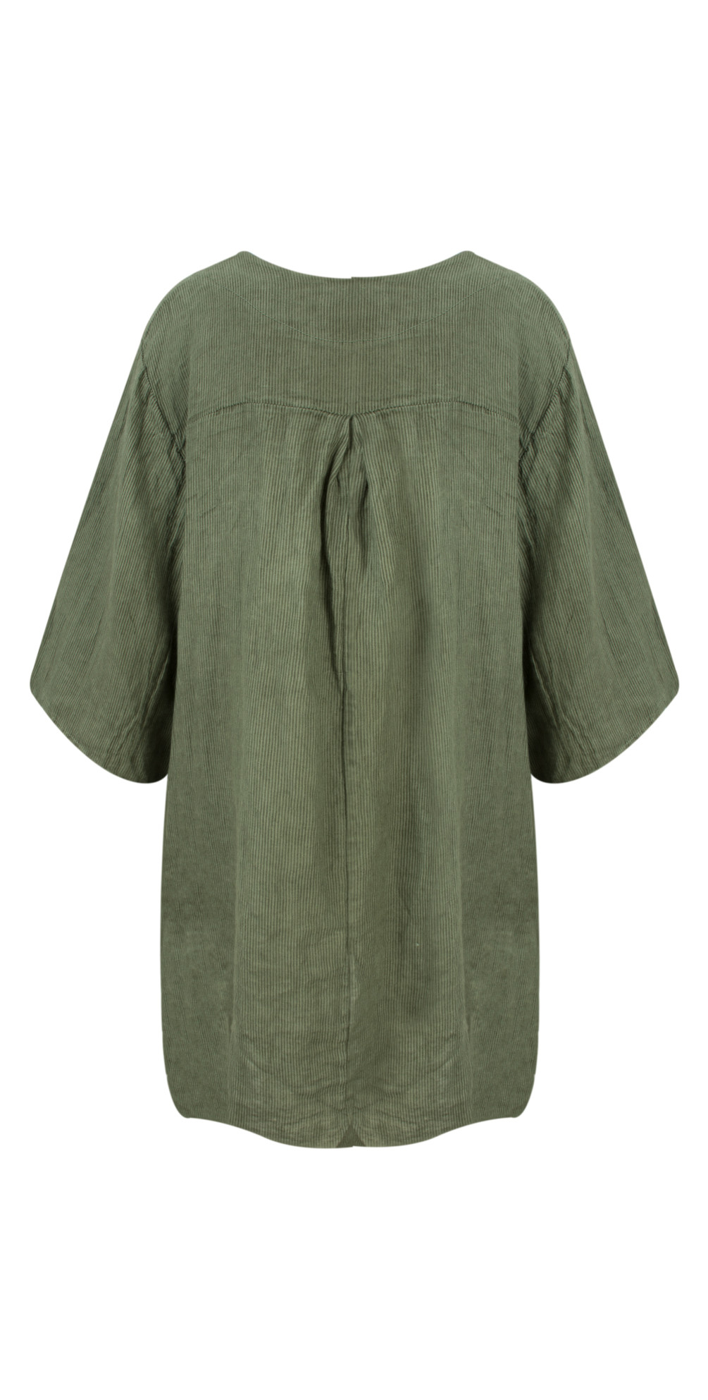 Dilys Linen Stripe Tunic Dress main image