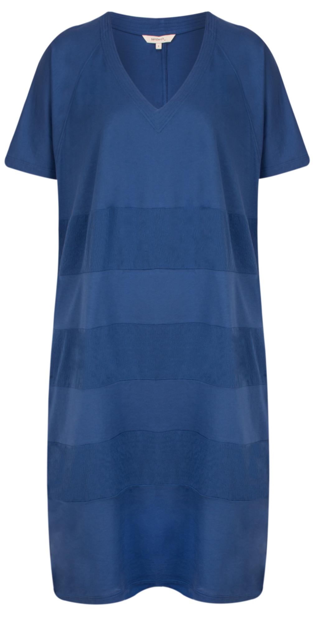 Oversized Jersey Stripe Dress main image