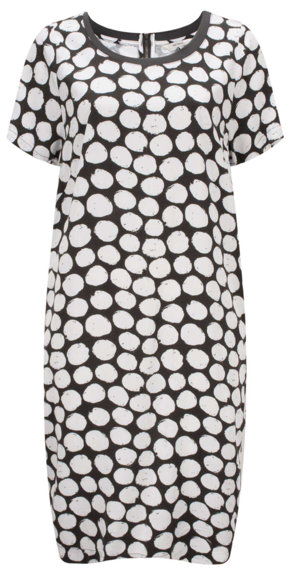 Painted Dot Print Dress main image