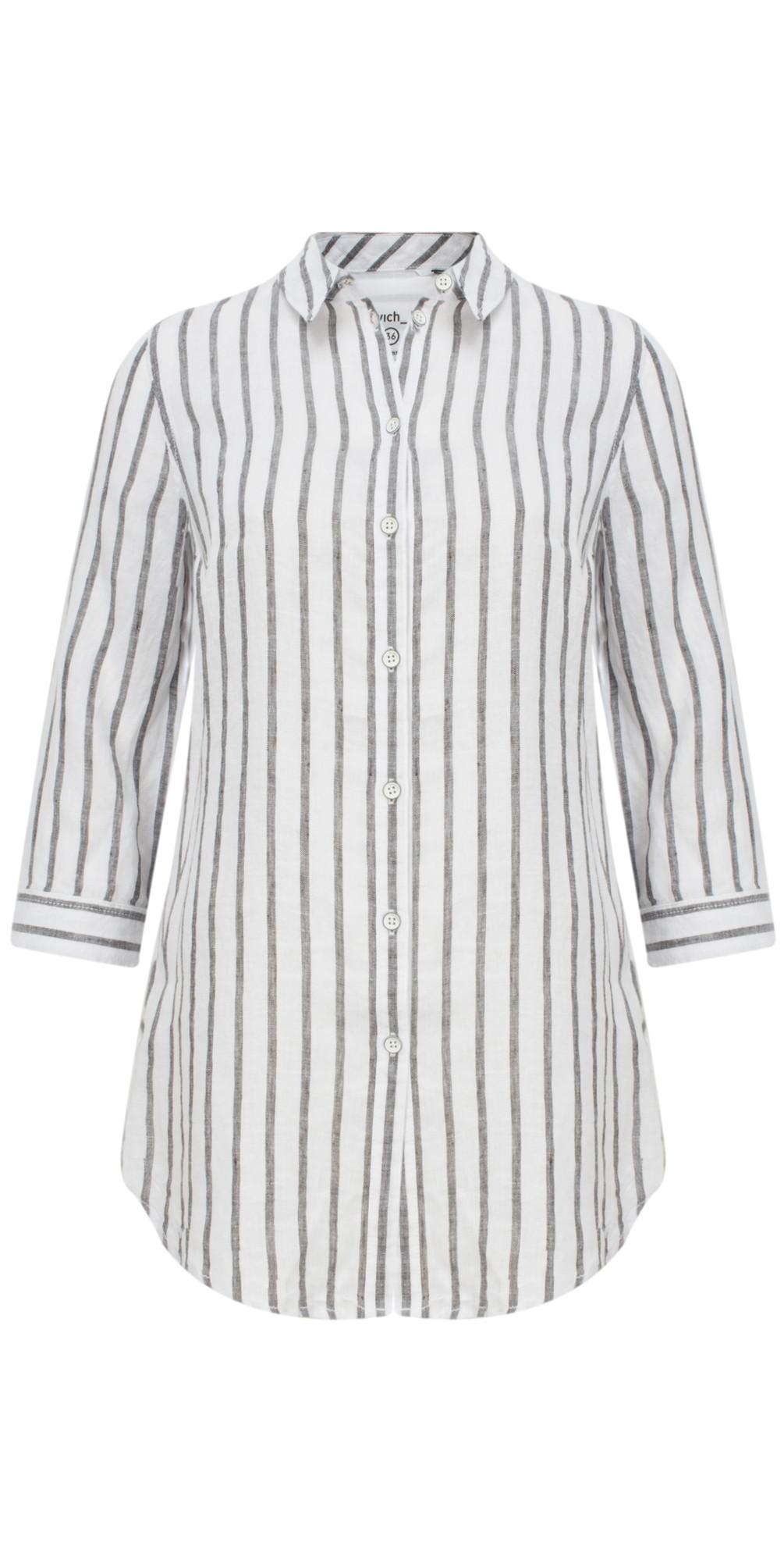 Linen Striped Shirt main image