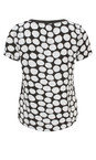 Sandwich Clothing Pure White Printed Dot Blouse