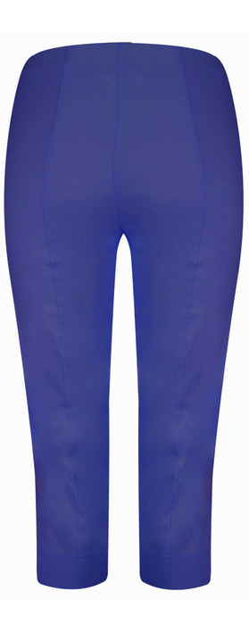 Robell Trousers Marie 07 Cropped Trouser Royal Blue