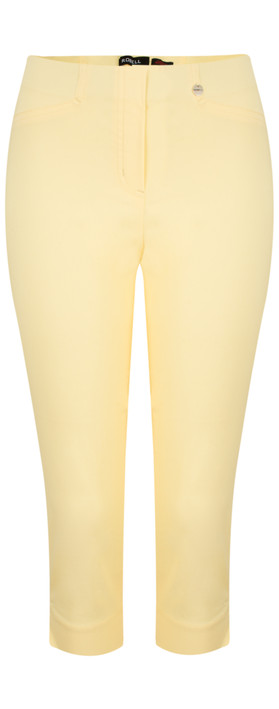 Robell Trousers Rose 07 Slimfit Cropped Trouser Vanilla