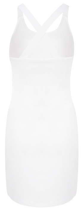 Sandwich Clothing X Over Strap Tunic Dress White