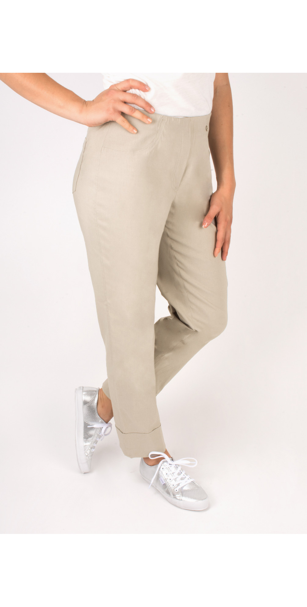 Bella 7/8 Cropped Trouser  main image