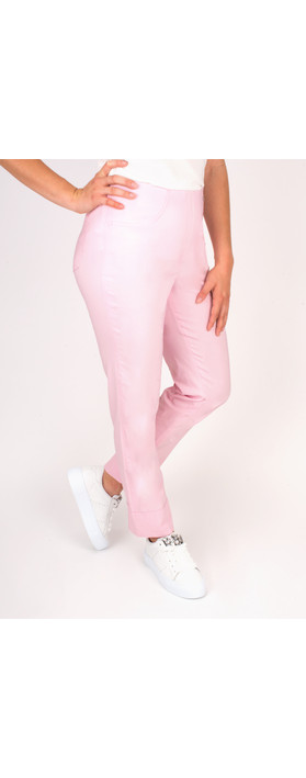 Robell Trousers Bella 7/8 Cropped Trouser  Sorbet