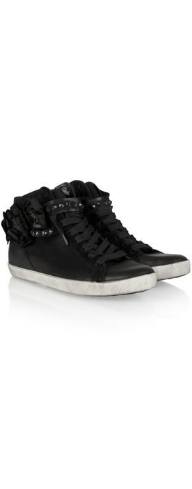 kennel und schmenger flower sneaker in schwarz. Black Bedroom Furniture Sets. Home Design Ideas