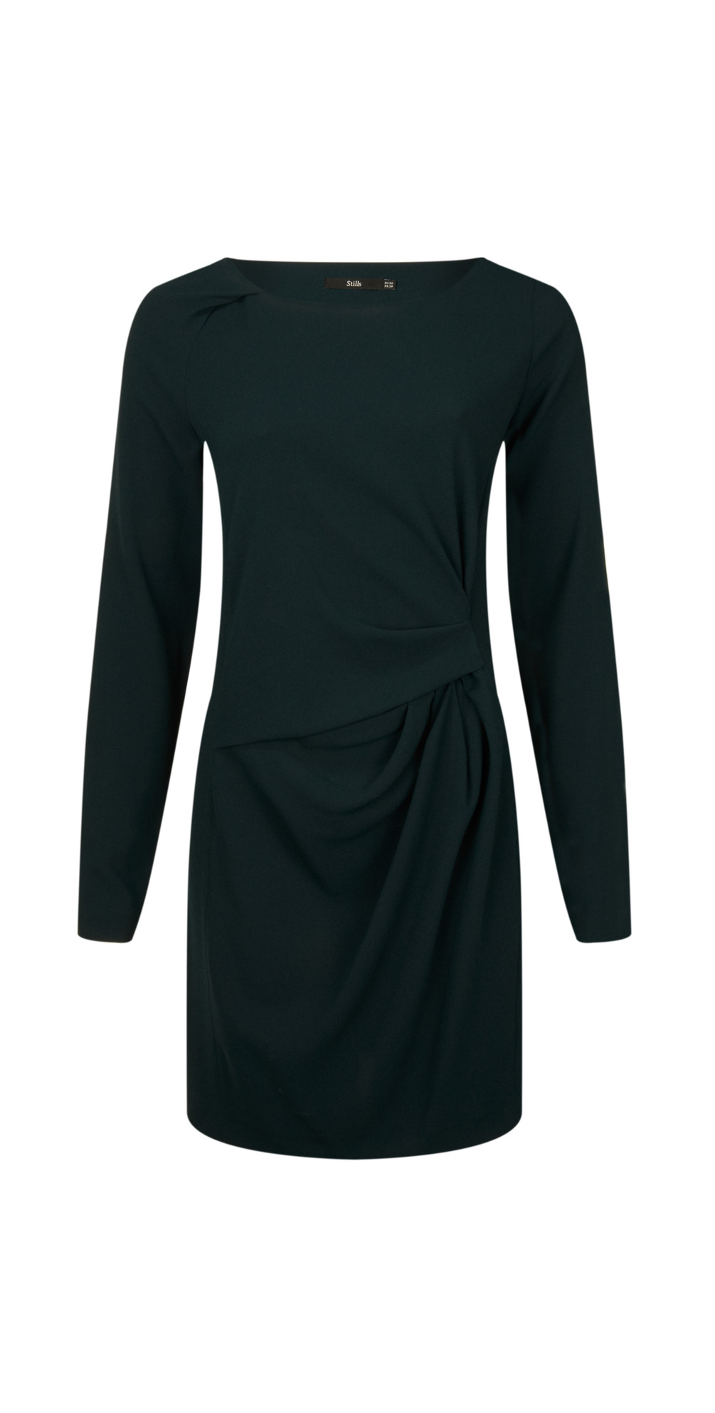 Long Sleeve Triacetate Dress main image