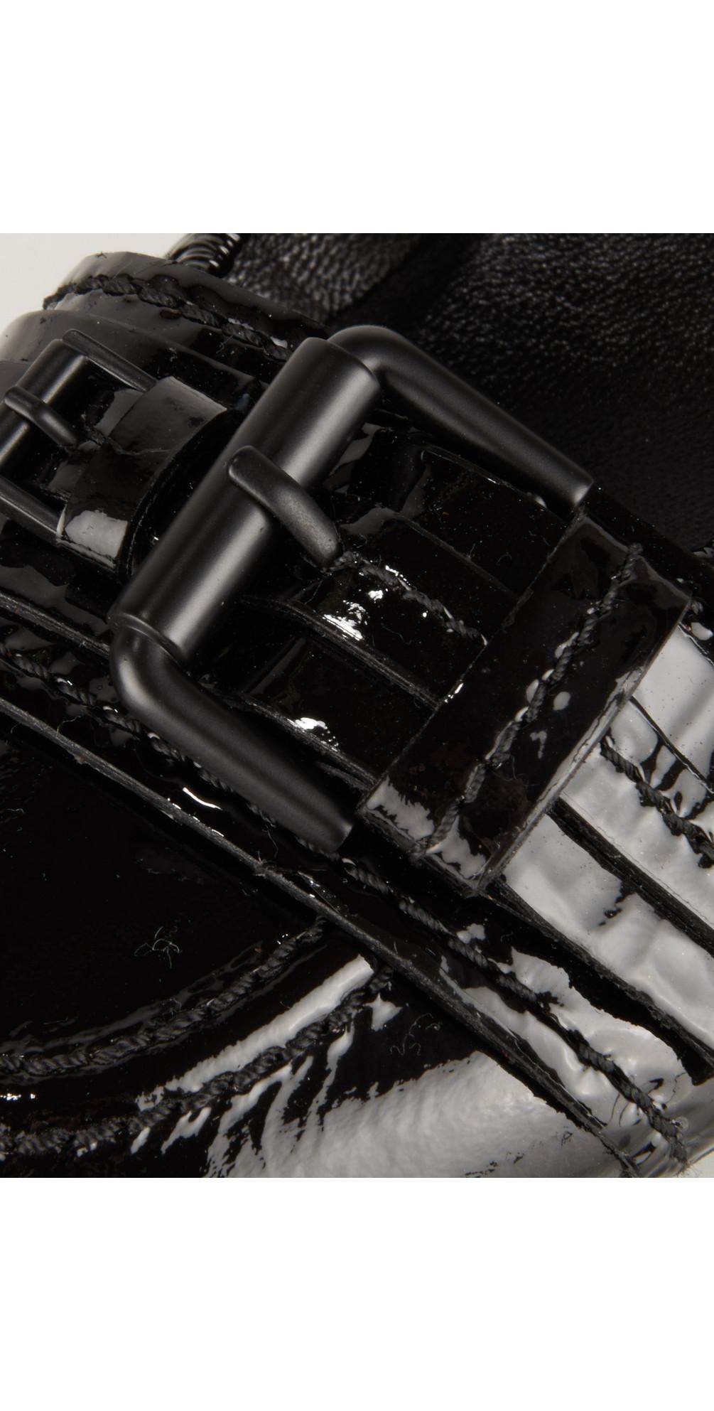 kennel und schmenger buckled pump in schwarz. Black Bedroom Furniture Sets. Home Design Ideas