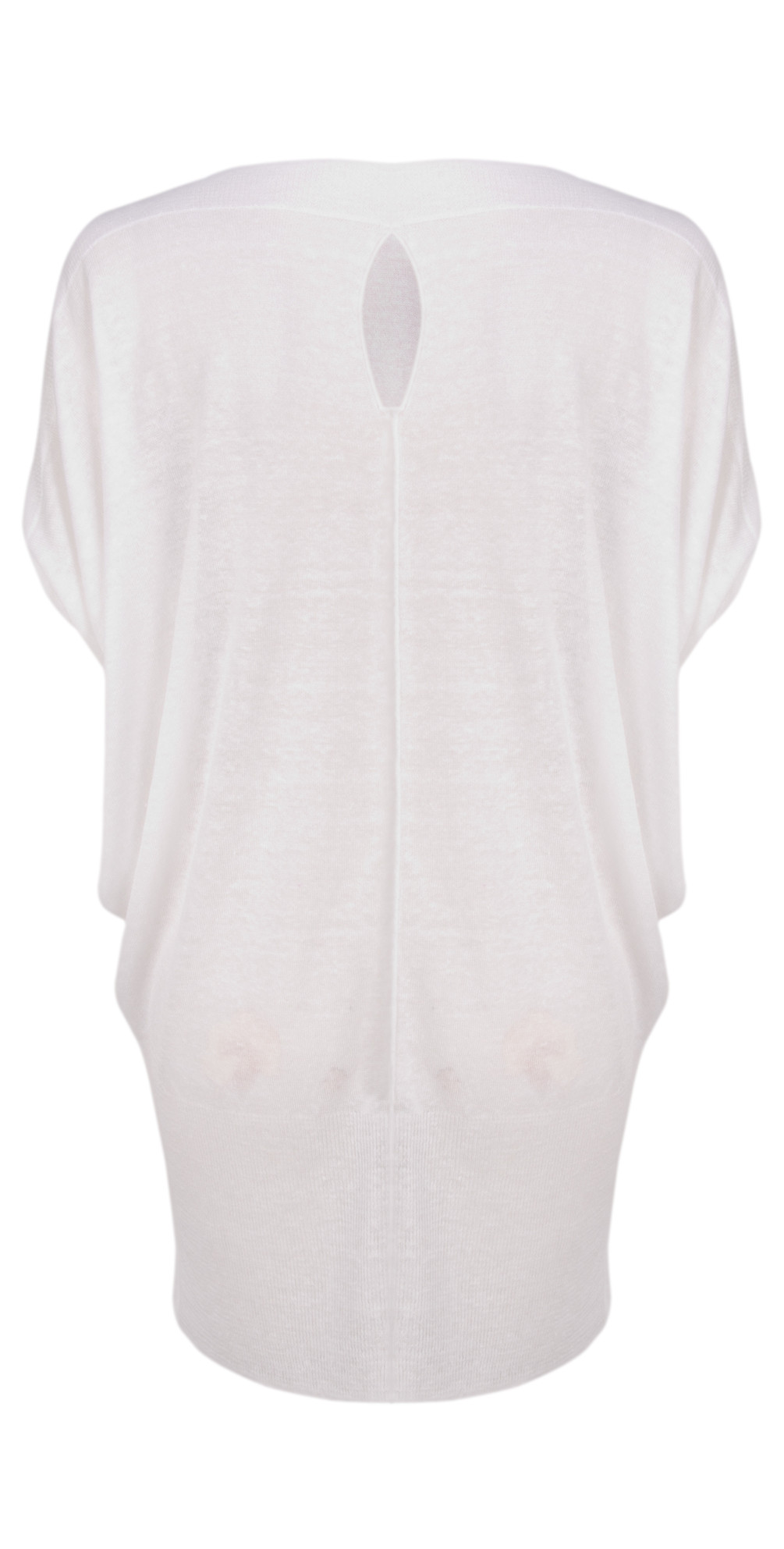 Short Sleeve Cloudy Linen Tunic main image