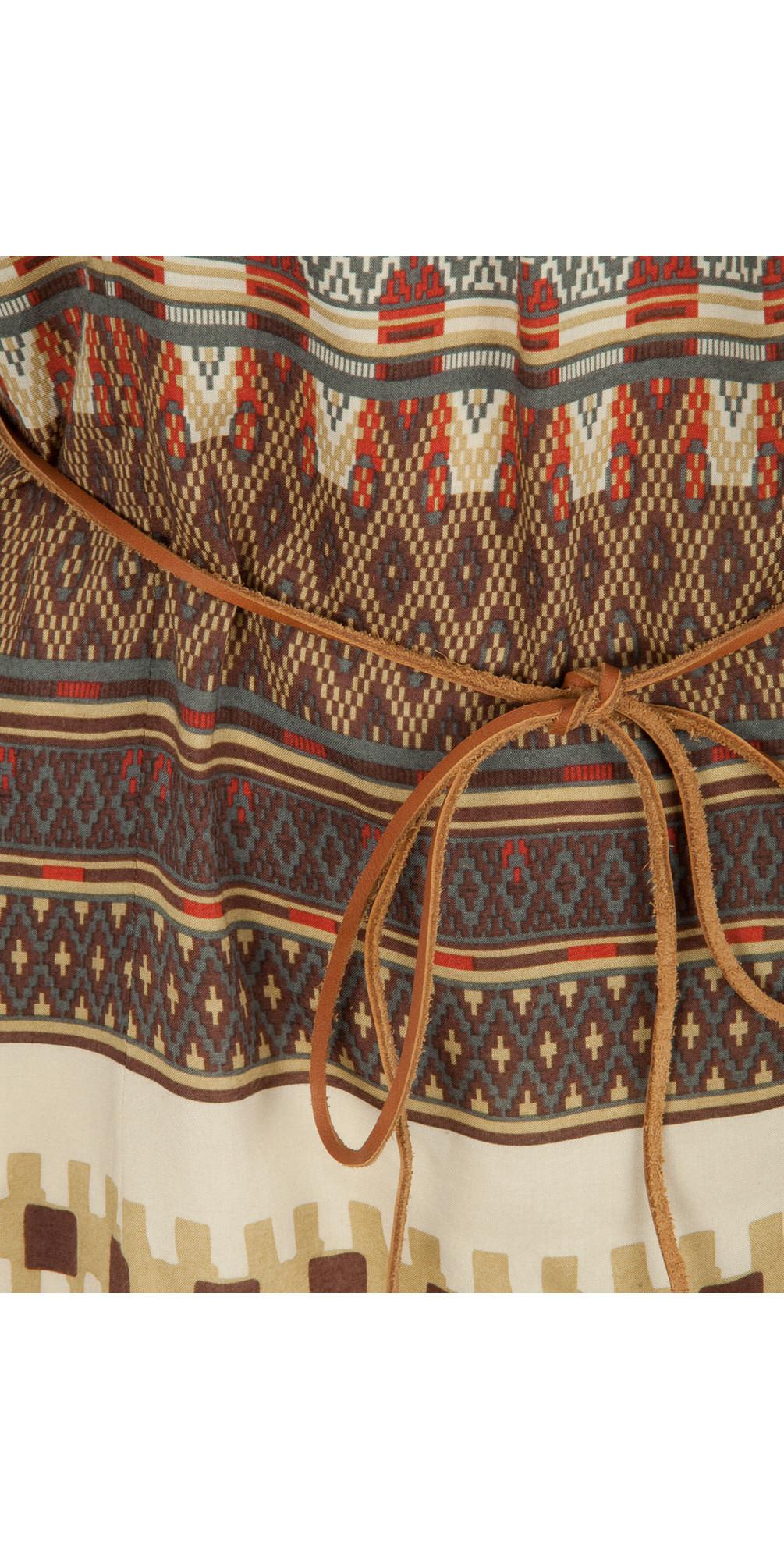 Tapestry Print Tunic main image