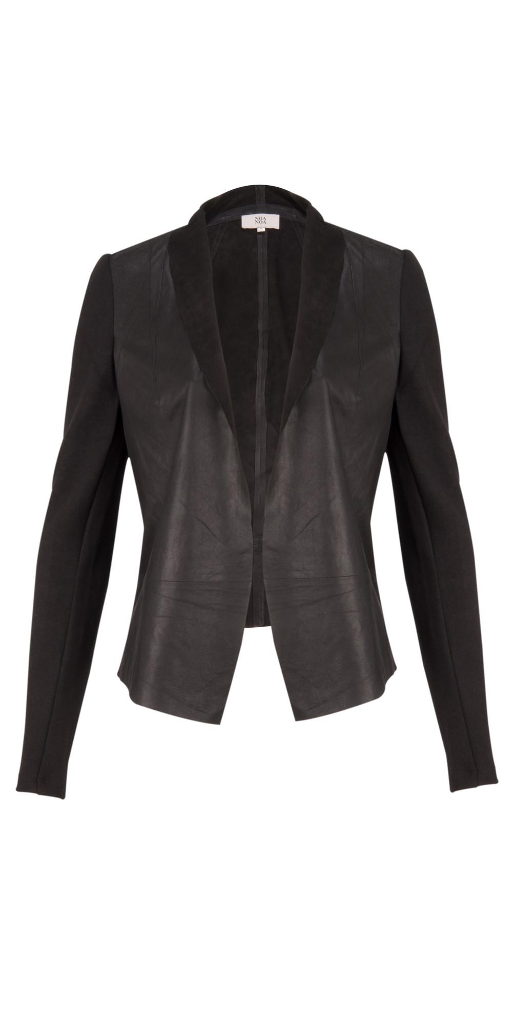 Atelier leather jacket