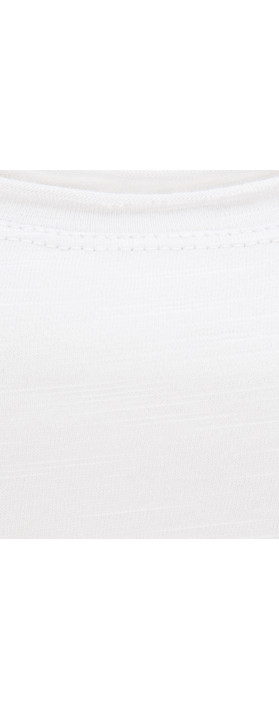 Sandwich Clothing Cotton Slub Jersey Singlet Optical White