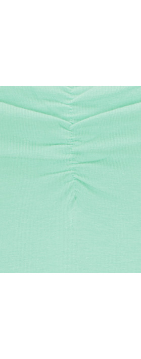 Sandwich Clothing Light Cotton Strap Top Light Aqua