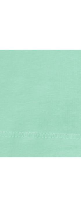 Sandwich Clothing Light Cotton Singlet Light Aqua