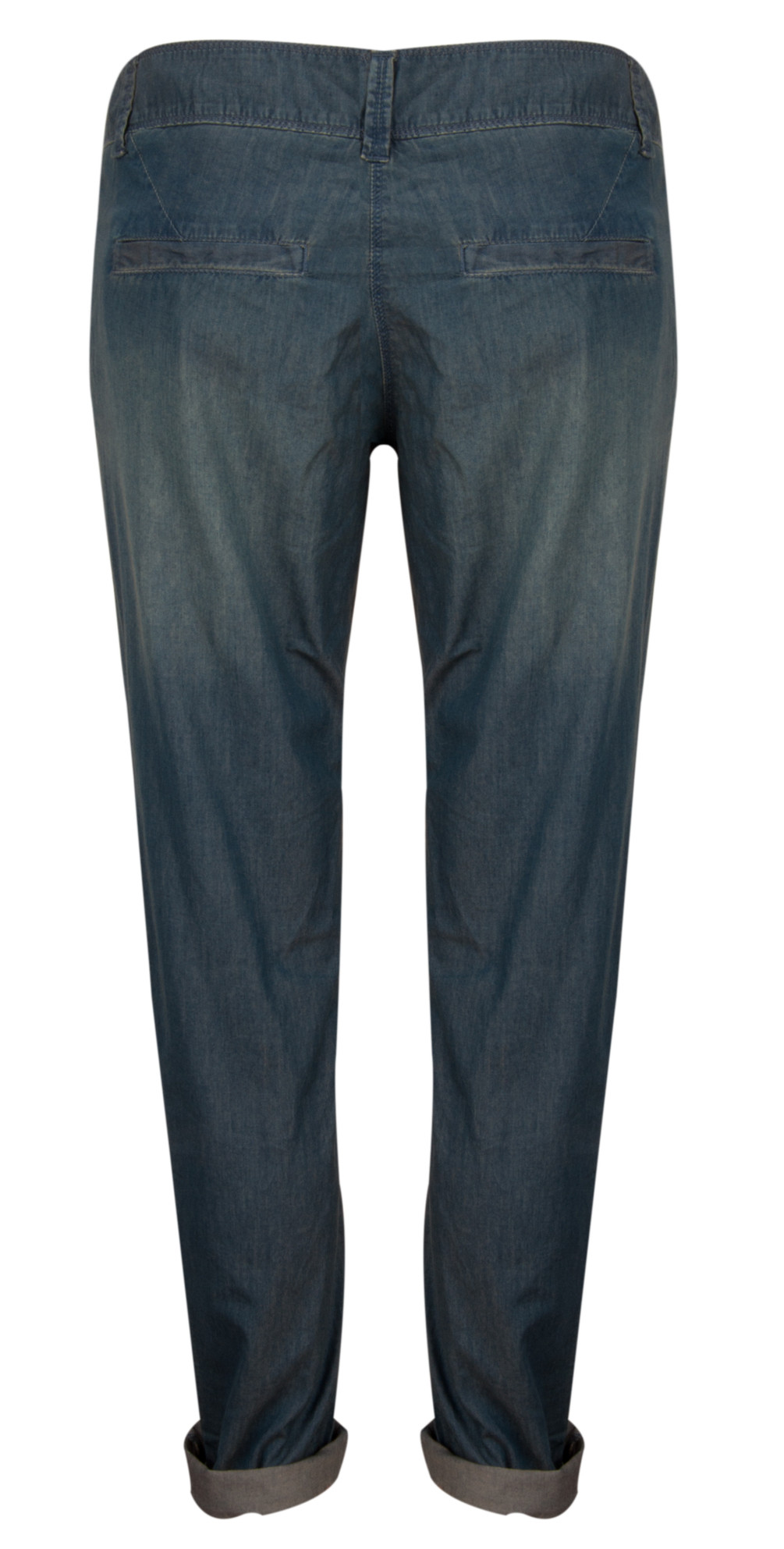 Sandwich clothing elba chambray jeans in faded denim for Chambray jeans