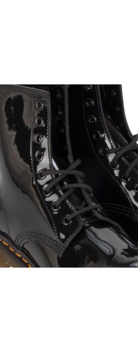 Dr Martens  Patent Lamper Boot Black