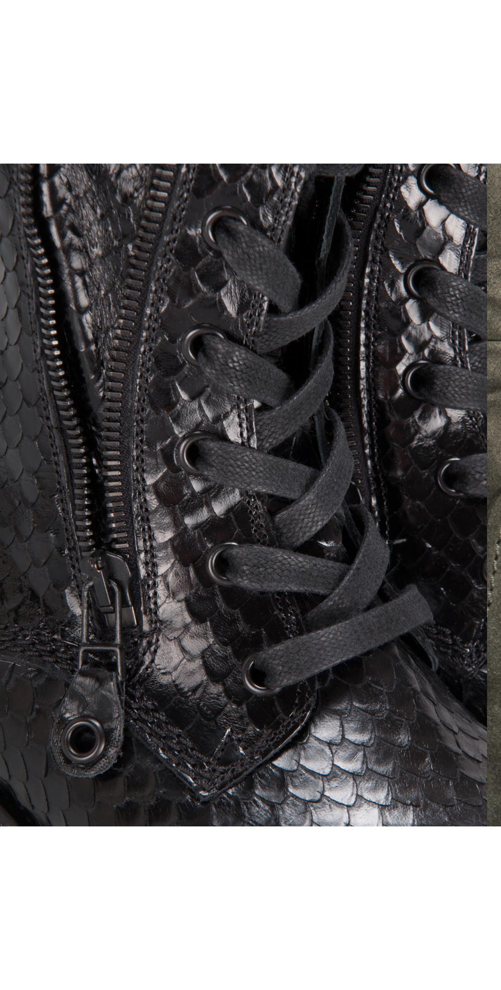 kennel und schmenger joe cobra brush boot in schwarz. Black Bedroom Furniture Sets. Home Design Ideas
