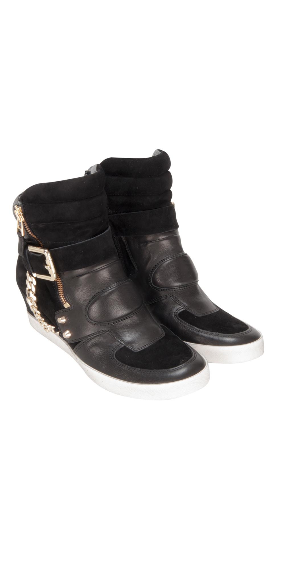 kennel und schmenger soho trainer shoe in schwarz. Black Bedroom Furniture Sets. Home Design Ideas