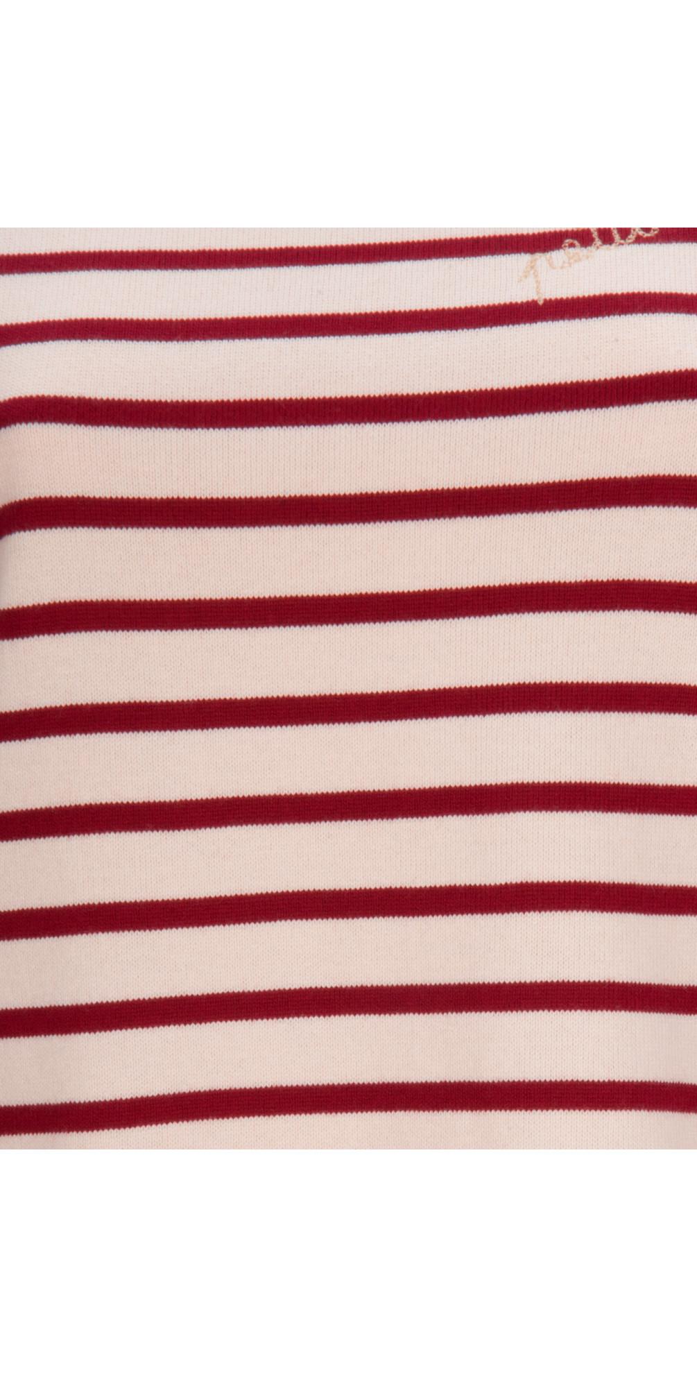 petit bateau sailor striped pullover in blossom. Black Bedroom Furniture Sets. Home Design Ideas